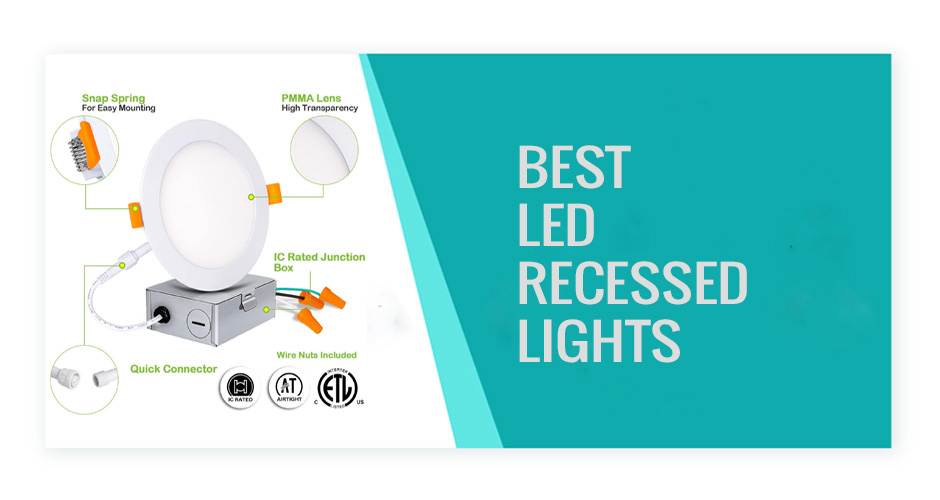best led recessed lights