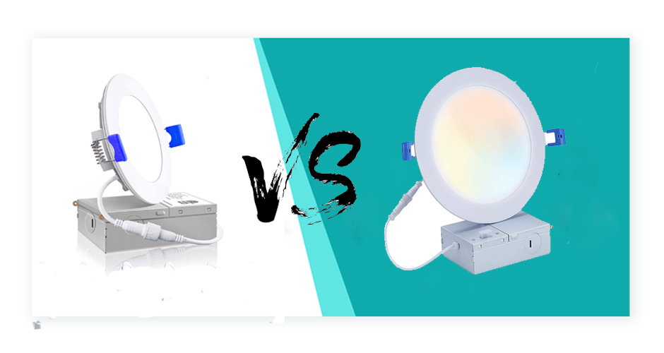 4 inch vs. 6 inch Recessed Lighting